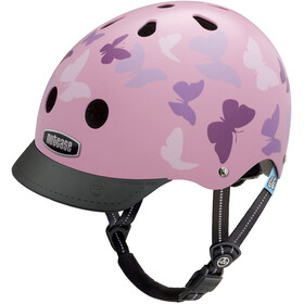 Nutcase Little Nutty Street - Casque de vélo Enfant - rose